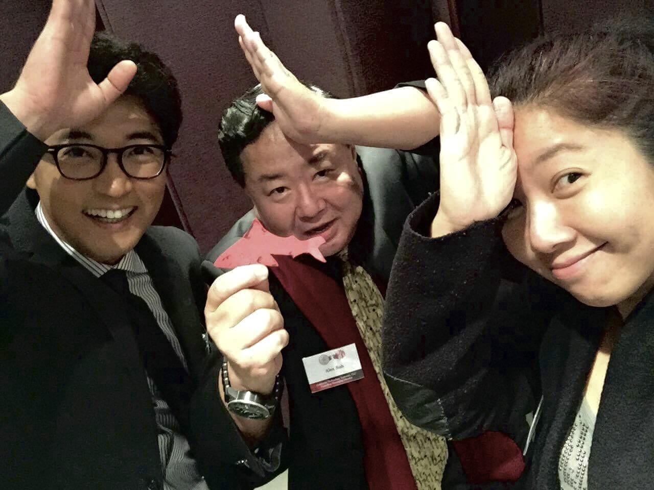 #SpenceTheShark with Korean Actor Jae-Woon Ahn and National Geographic Photographer YZin Kim in Korea