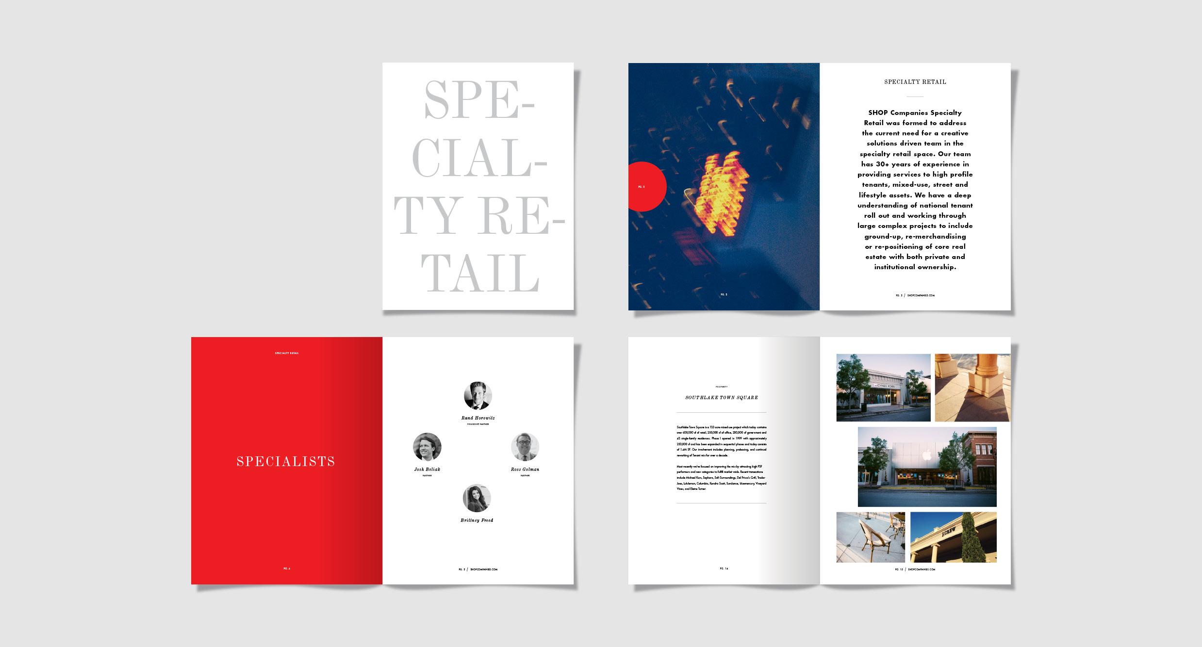 Brochure / Specialty Retail