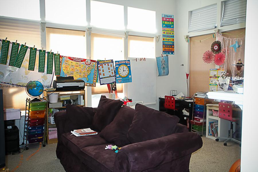 Homeschool Classroom Tour