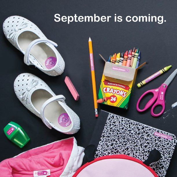 Back To School With Mabel's Labels