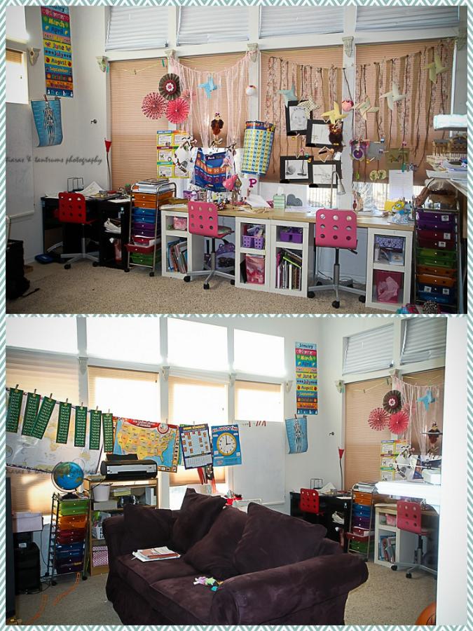 Tiaras & Tantrums Home School Tour