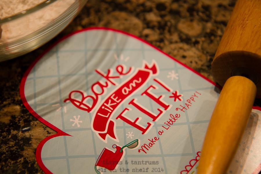 Operation Tradition: Baking with Elf on the Shelf & Hallmark