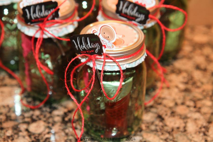 Christmas Mason Jar Gift