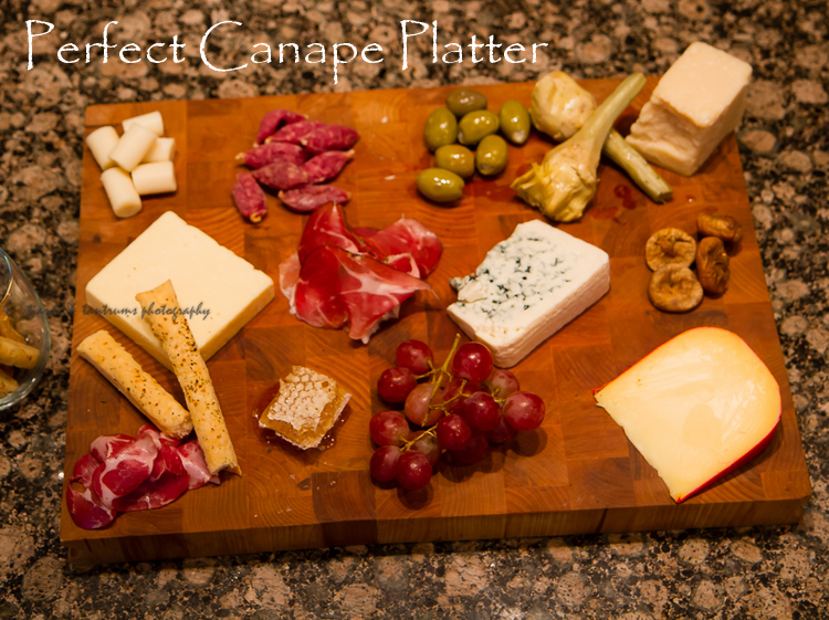 Perfect Canape Platter