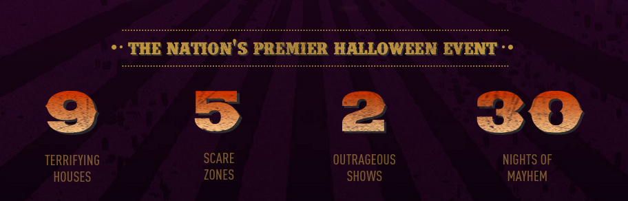 Halloween Horror Nights at Universal Studios Orlando