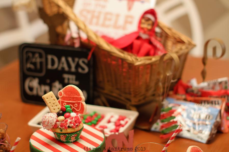 Elf on the Shelf Cupcake & Cocoa Welcome Party #BakeintheFun