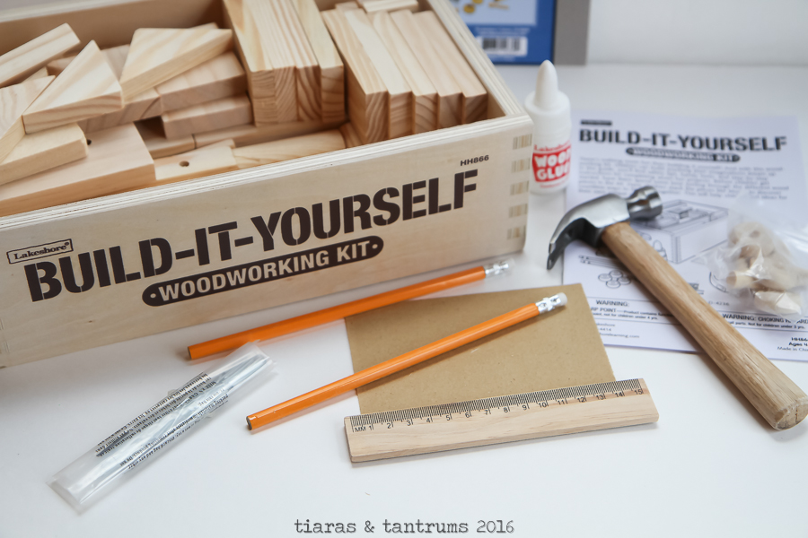 Build-It-Yourself Woodworking Kit Lakeshore Learning #learningthroughplay
