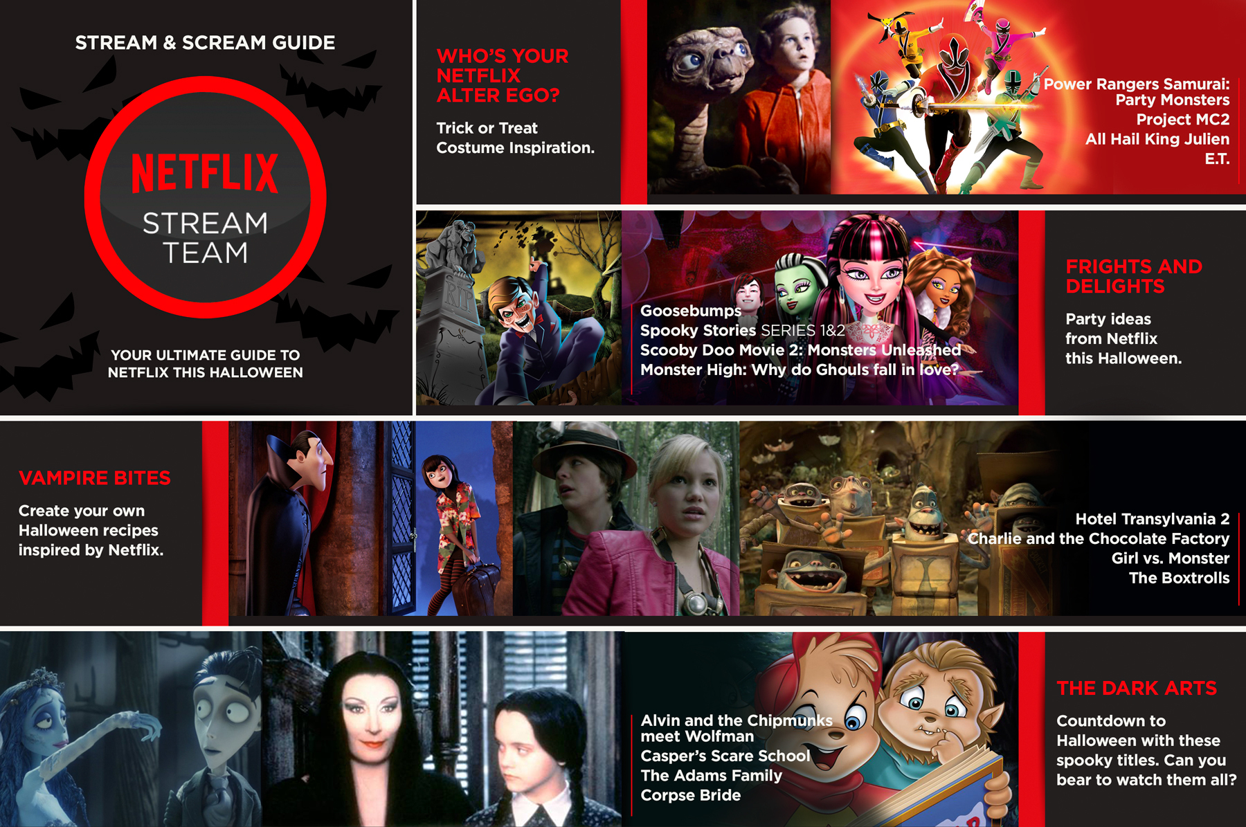 How to Host a Halloween Party with Netflix