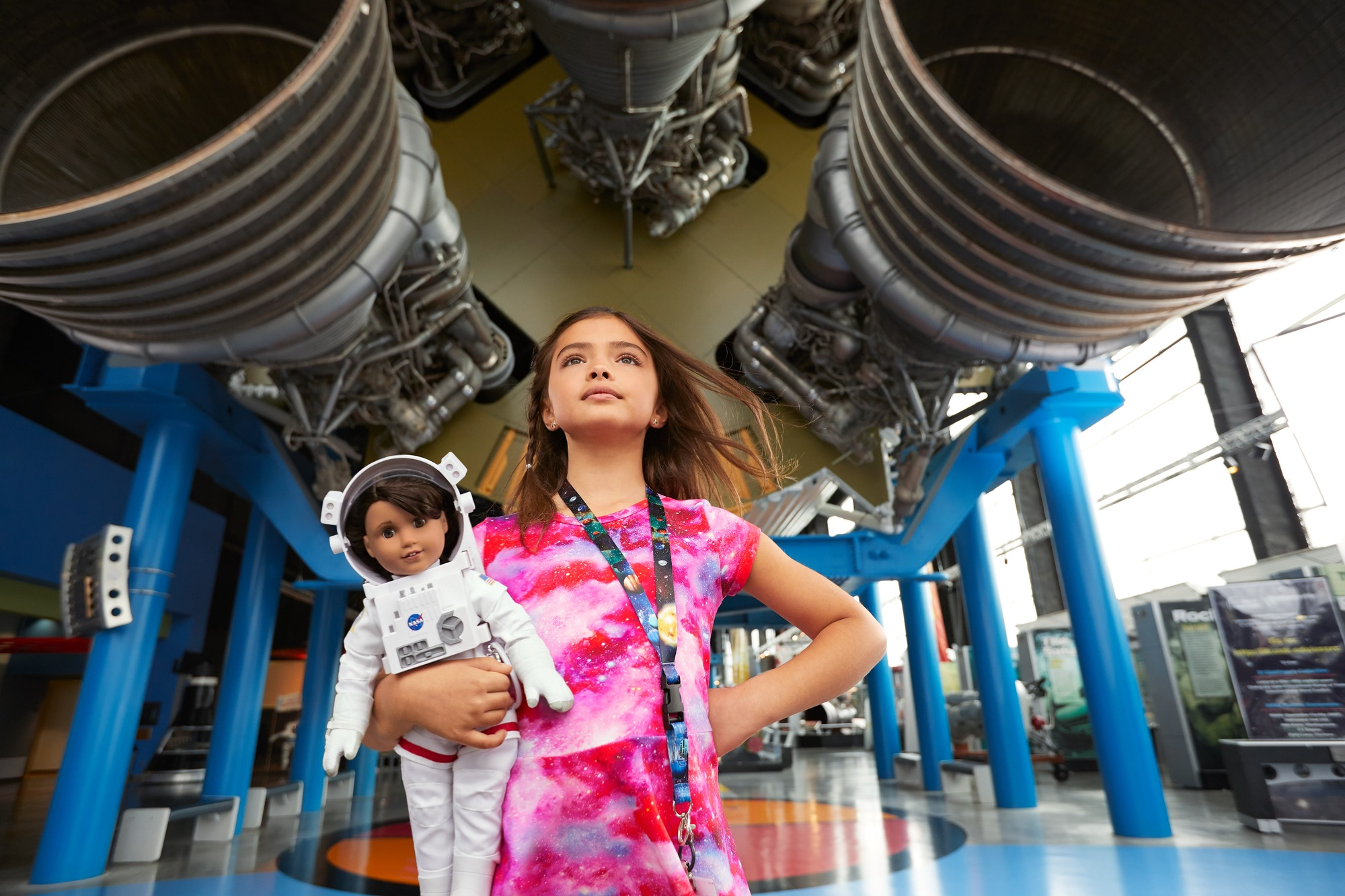 American Girl's 2018 Girl of the Year Is Luciana Vega - Aspiring Astronaut