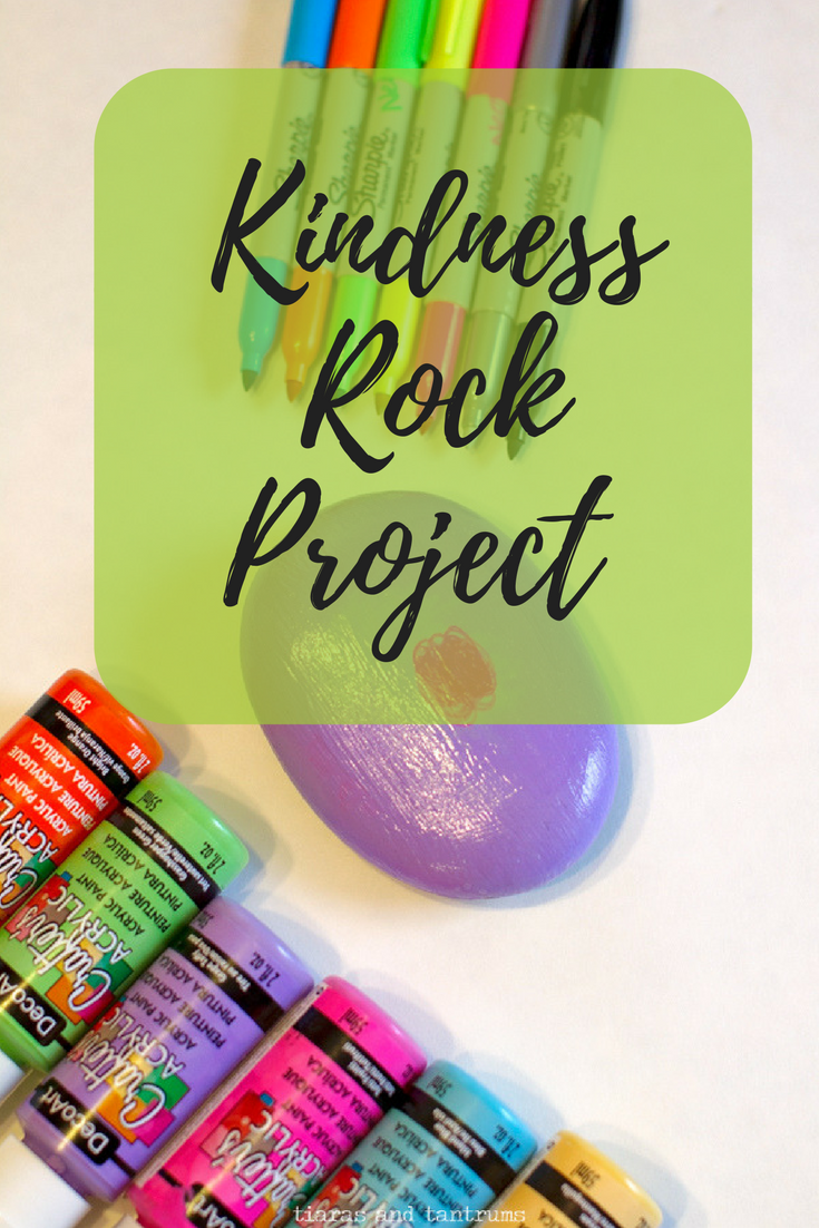 Painting Rocks with Kids Project