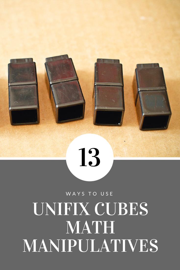 13 Ways to USE Unifix Cubes | Math Manipulative