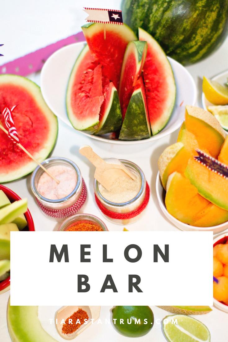 Tiaras & Tantrums Sweet Summer Melon Bar