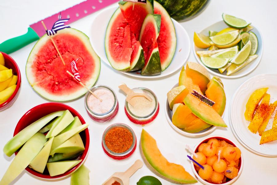 Sweet Summer Melon Bar