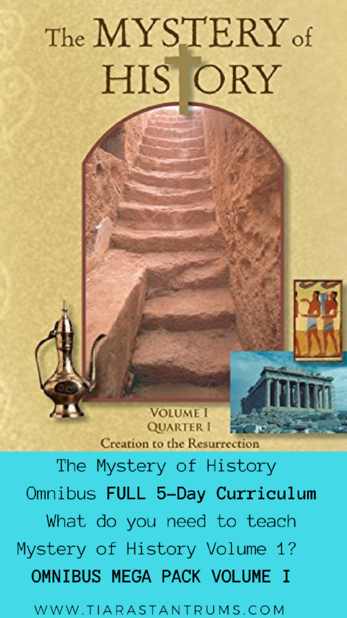 Omnibus Mega Pack Curriculum Mystery Of History Volume 1