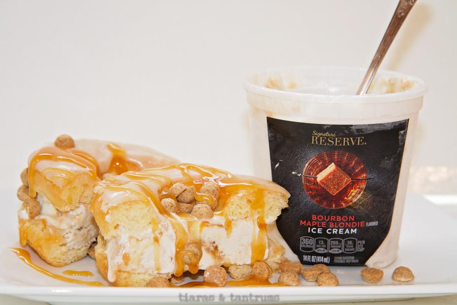 Indulgent Doughnut Ice Cream Sandwiches Tiaras & Tantrums