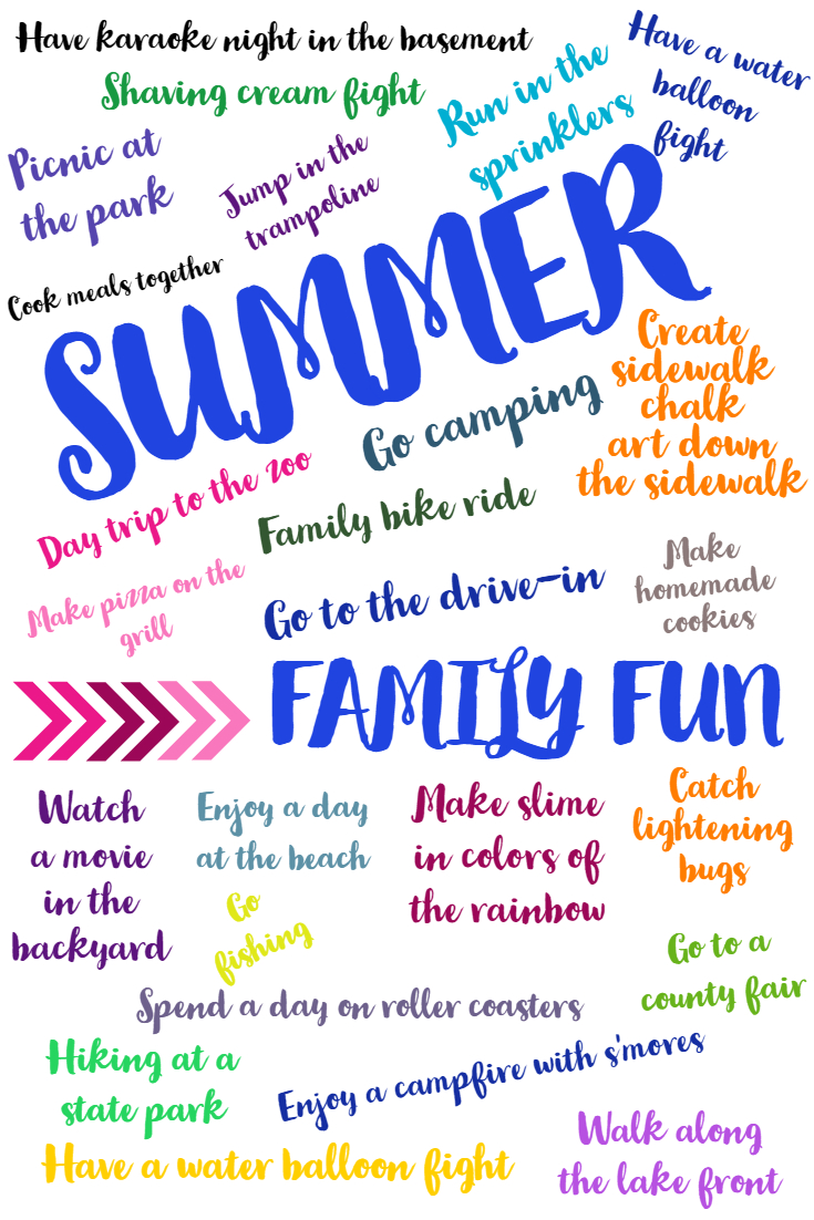 THE KIDS OF SUMMER FAMILY FUN MONTH