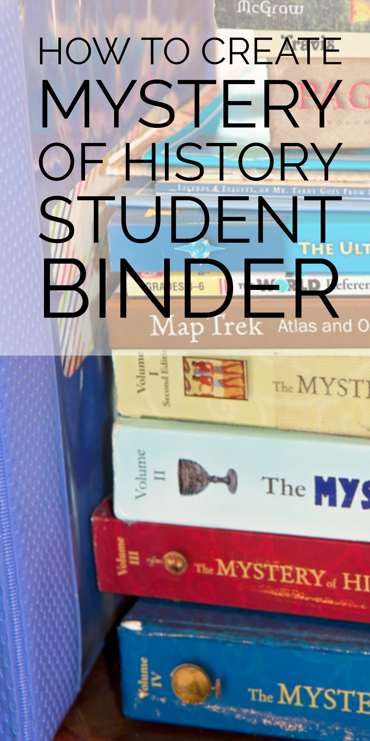 How To Create Mystery of History Student Binder  Tiaras & Tantrums