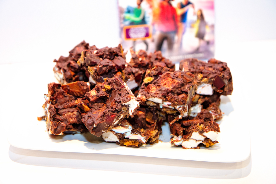 DIY Movie Night Bar Party for Teens Rocky Road The Darkest Minds