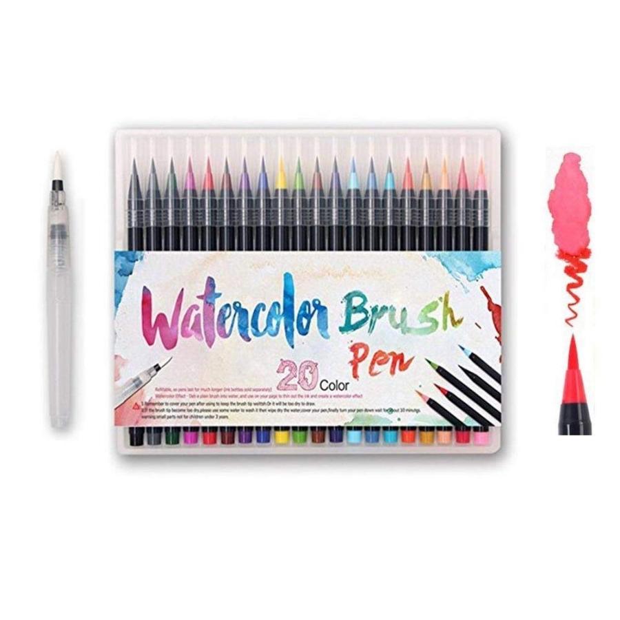 Amazing Gift Ideas Under $50 Watercolor Brush Pen Set
