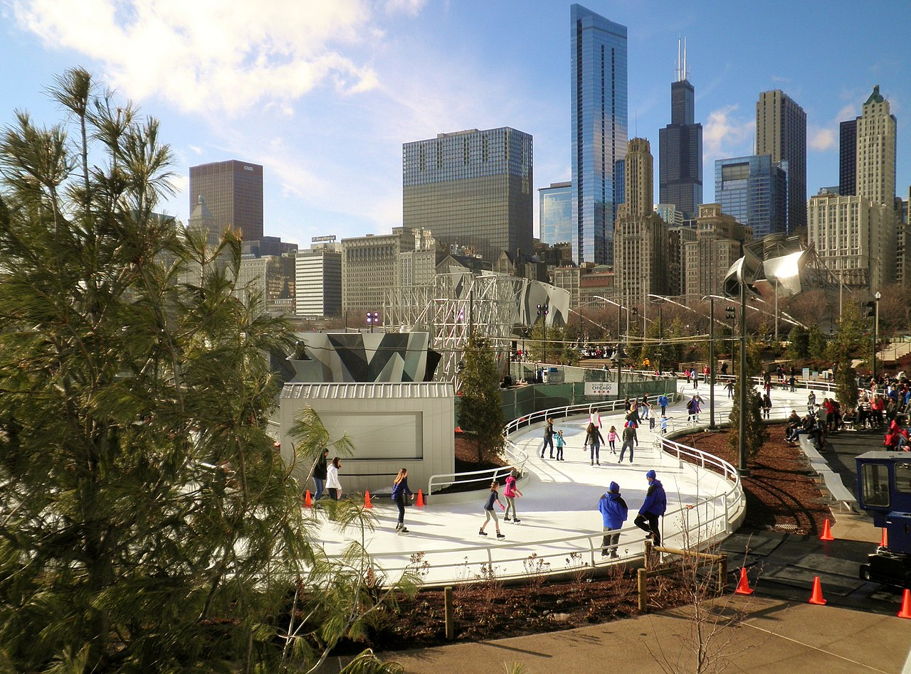 Chicago Guide to the Holidays Maggie Daley Skating Ribbon