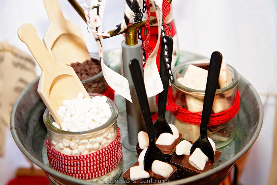 Hot Chocolate Station with Vitamix  #Vitamix #HotChocolate #hotchocolatestation #hotcocoabar