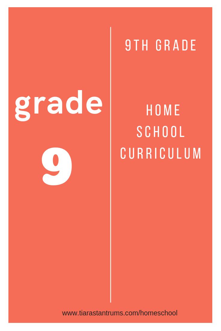 9th grade homeschool curriculum