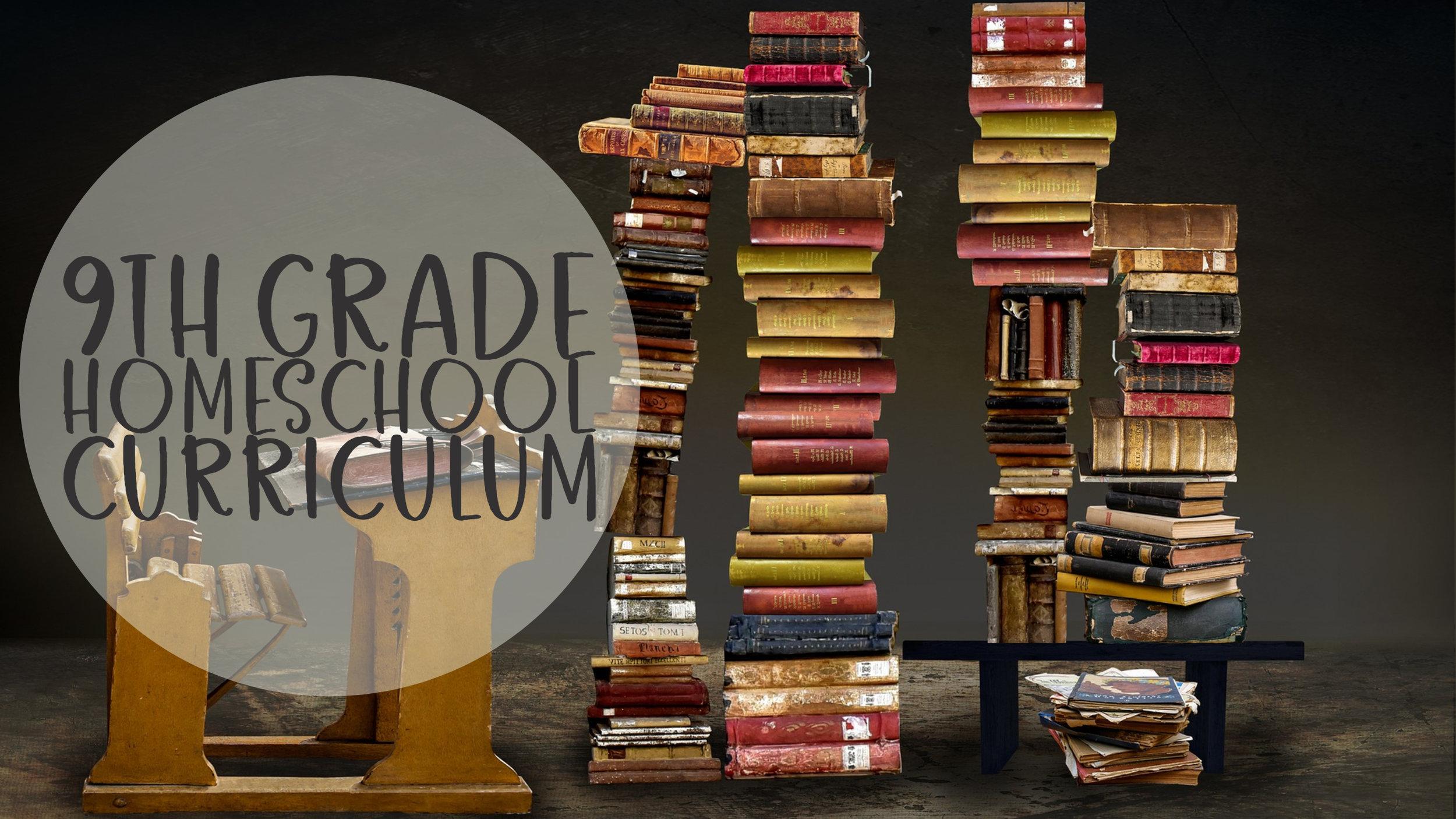 9th Grade Homeschool Curriculum #homeschool #grade9curriculum #homeeducating #homeschooling #9thgradehomeschooling