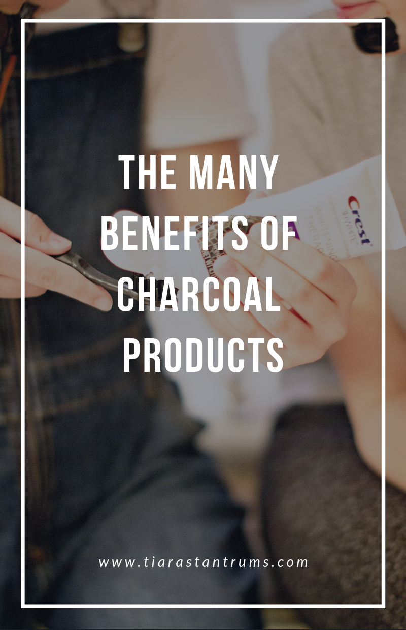 The Many Benefits of Charcoal Products #crest #BetterWayToCharcoal Crest 3D White Whitening Therapy w/ Charcoal