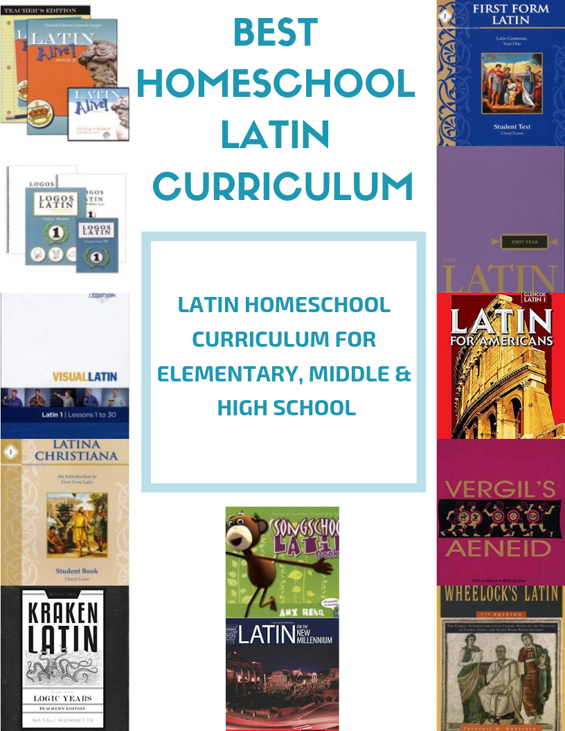 The Best Homeschool Latin Curriculum  #latin #homeschool #Latincurriculum #homeschoollatin