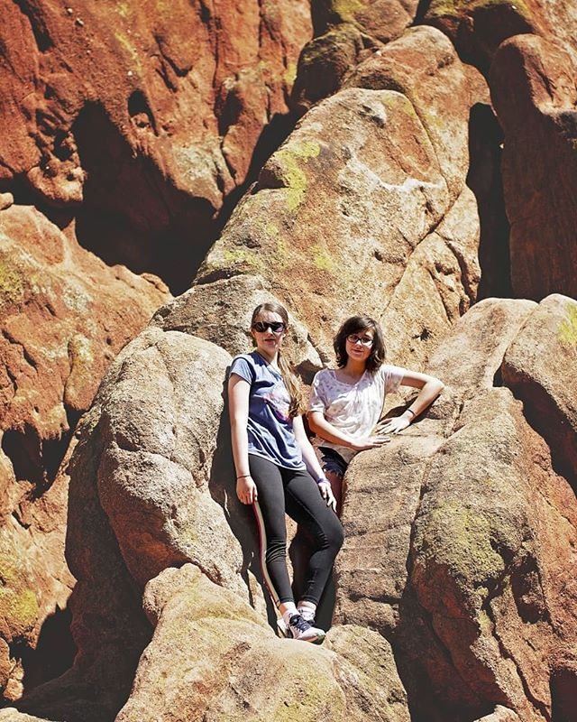 These girls of mine, love the mountains and the brisk fresh air.  Really . . . there is nothing like the blue in these western skies! • • • • #Colorado #GardenoftheGods #ColoradoSprings #gotg #igerscolorado  #coloradolandscapes #colorfulcolorado  #coloradogram #amongthewild  #allbeauty_addiction #outtherecolorado  #coloradolimited #onlyincoloradousa  #viewsfromcolorado #coloraddict #coloradical  #colorado_creative #wildandco #naturalcolorado#natureperfection #colorado_daily #viewcolorado #naturalcolorado  #colorado_creative #coloradoskies  #coloradoactivities #viewsfromcolorado  #coloradophotography #coloradohikes #explorecolorado