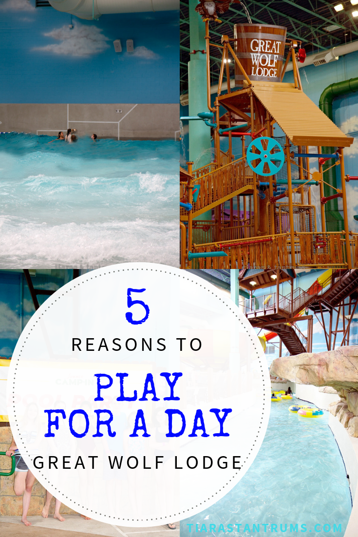 Top 5 Reasons to Play for a Day at Great Wolf Lodge #GreatWolfLodge #PlayforaDay #chicagoWaterpark #waterparkfun #gurneeIL #gurnee  #waterparkswimming