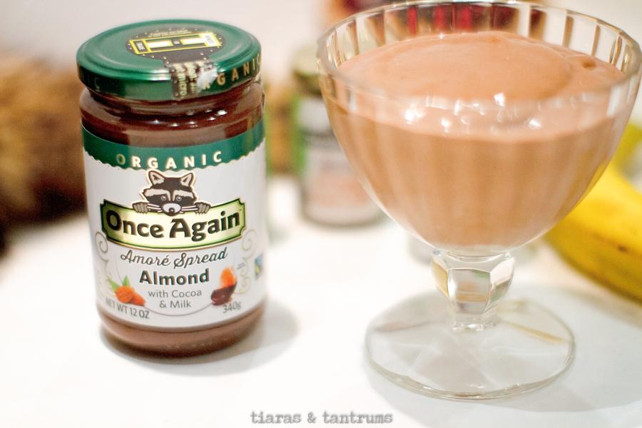 Almond Banana Ice Cream#nicecream #almondnicecream  #bananaicecream