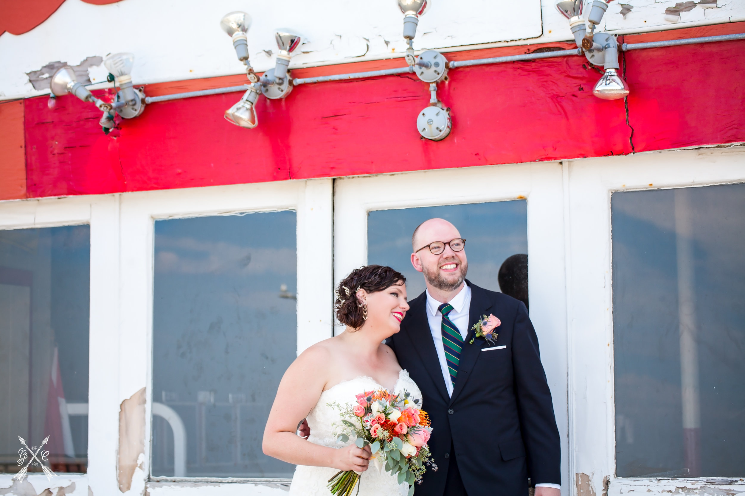 Lucy + Oliver before their Nantasket Beach Resort wedding (Hull, MA)