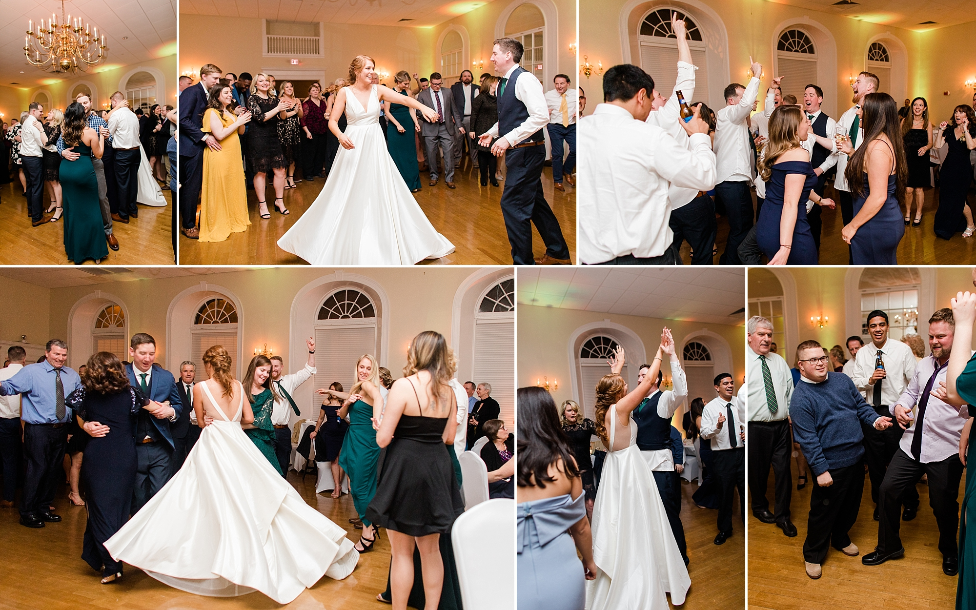 This Irish jig fueled dance floor did not disappoint! Anna & Bobby's wedding guests couldn't wait to get on the dance floor!