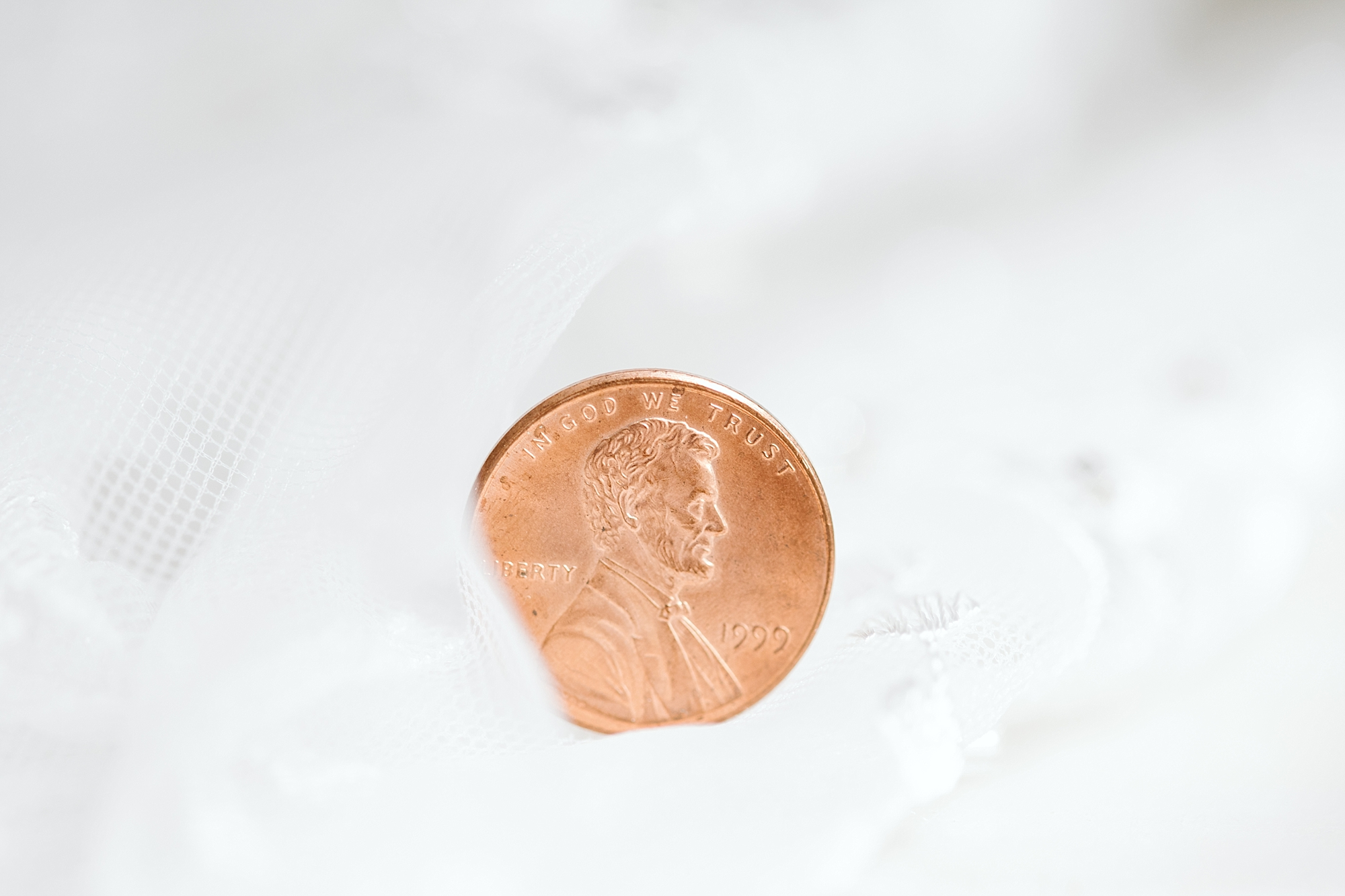A penny for luck