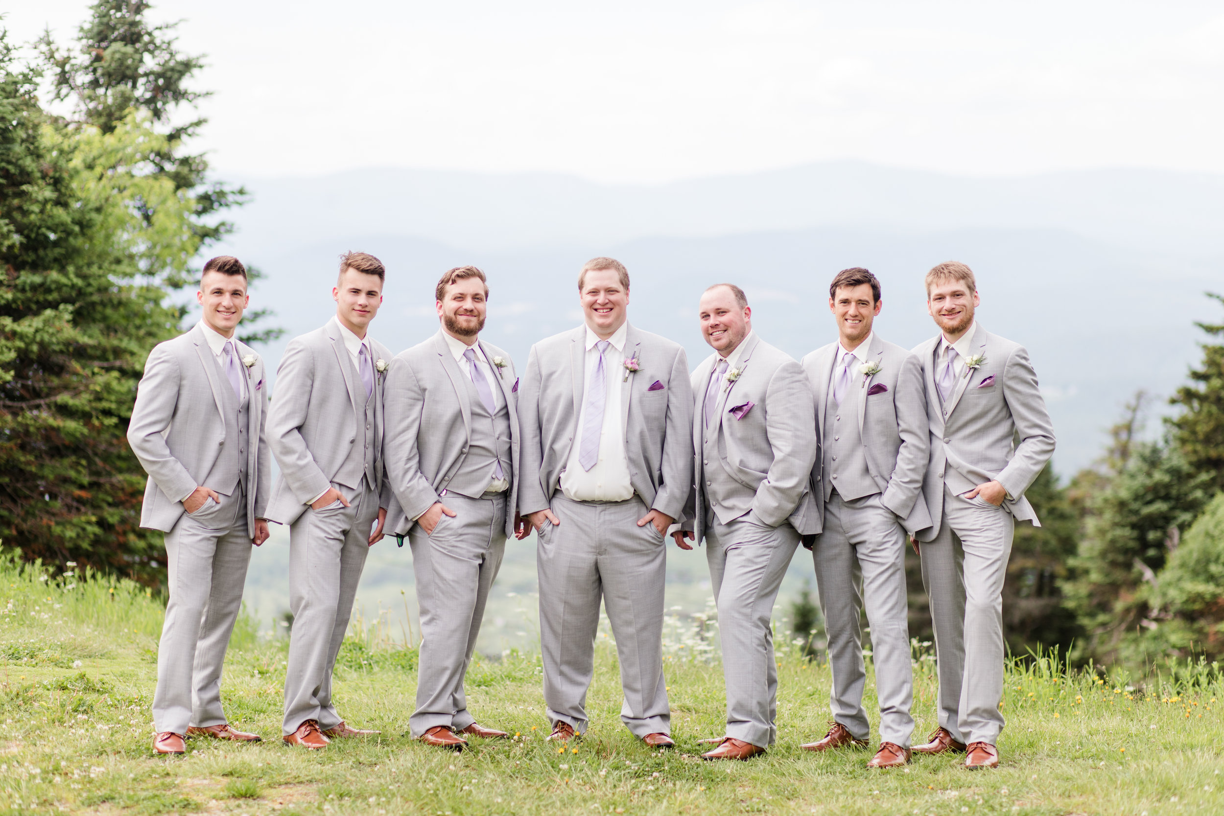 Mount Sunapee Wedding - Groomsmen - New Hampshire