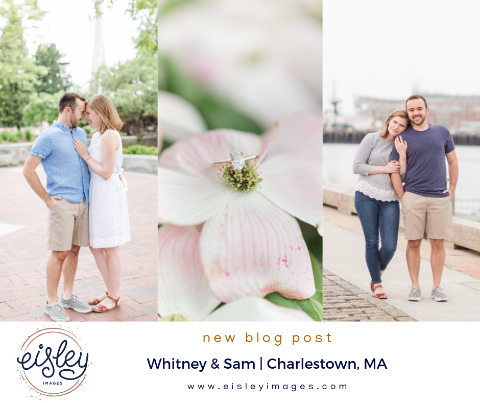 charlestown engagementment session