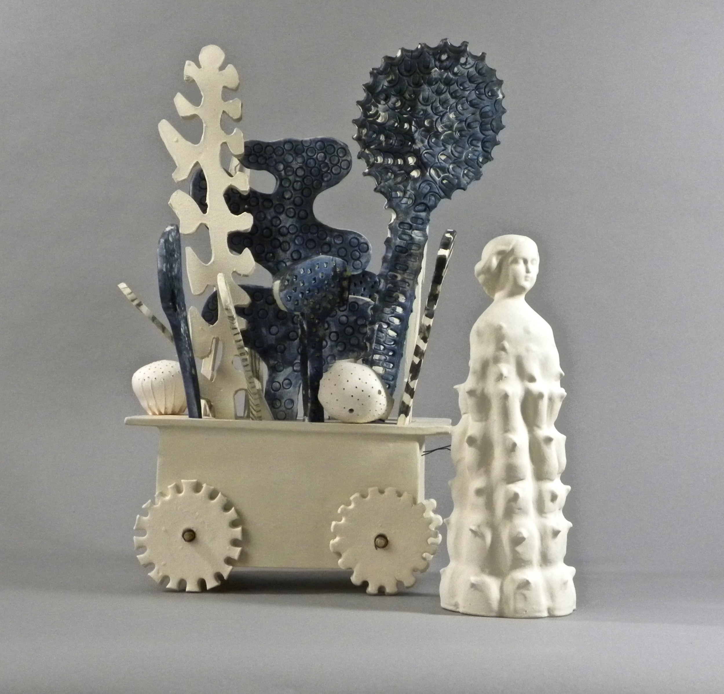 %22Chariots of Desire%22 Yana Goldfine 2015 porcelain and steel wire.jpg