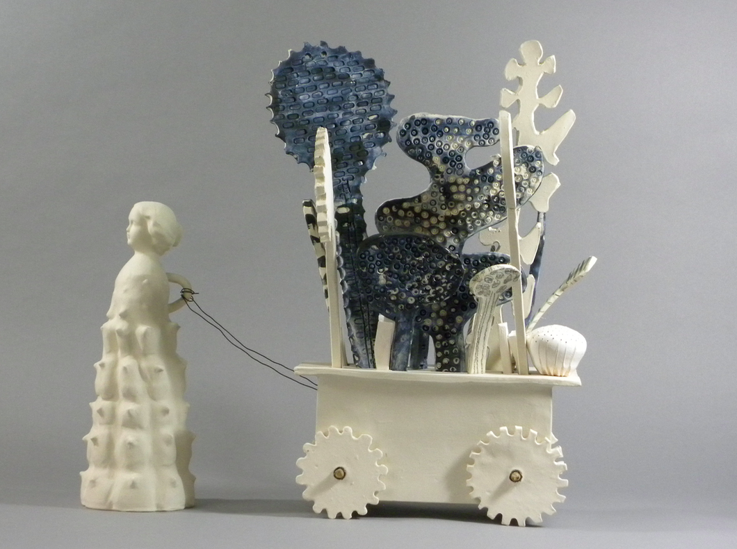%22Chariots of Desire%22  Yana Goldfiine 2015 porcelain and steel.png