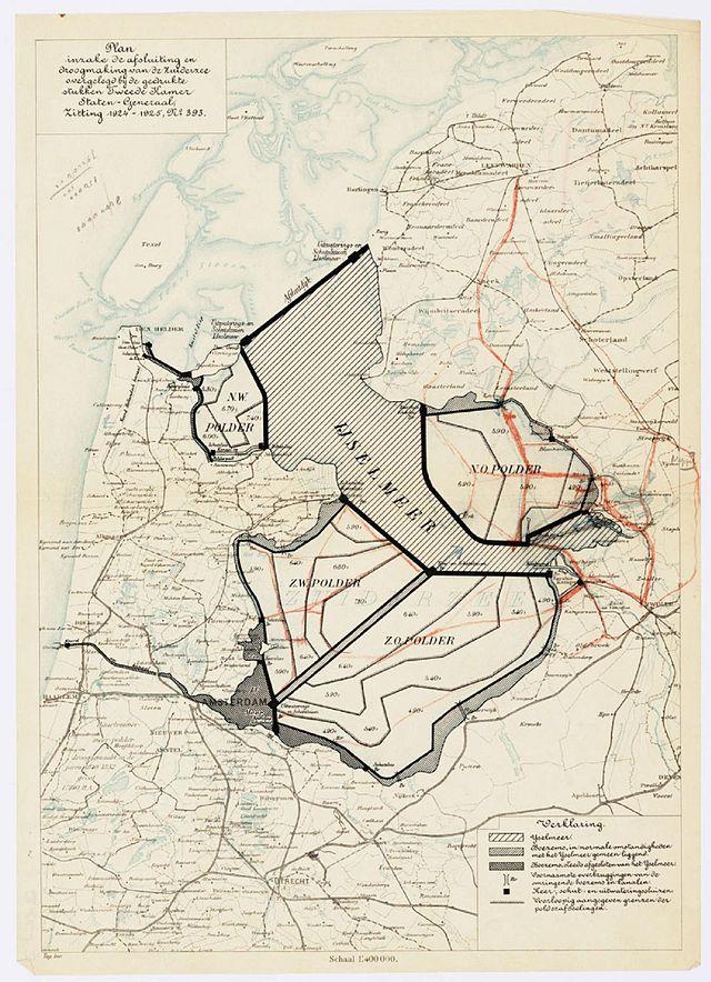 Plan Lely, 1891