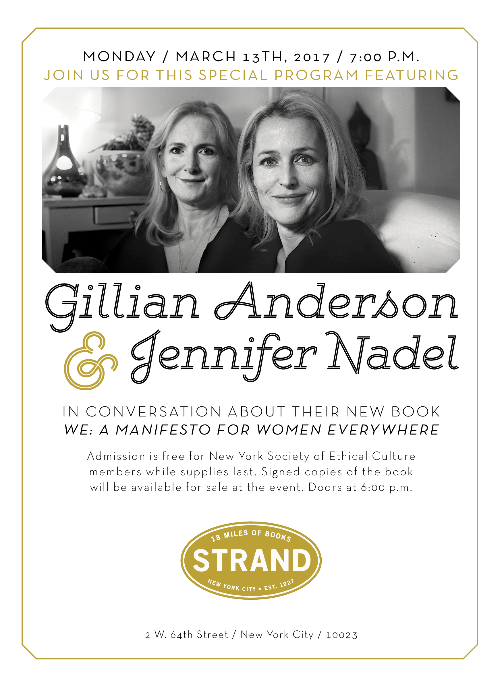 Copy of Gillian Anderson & Jennifer Nadel