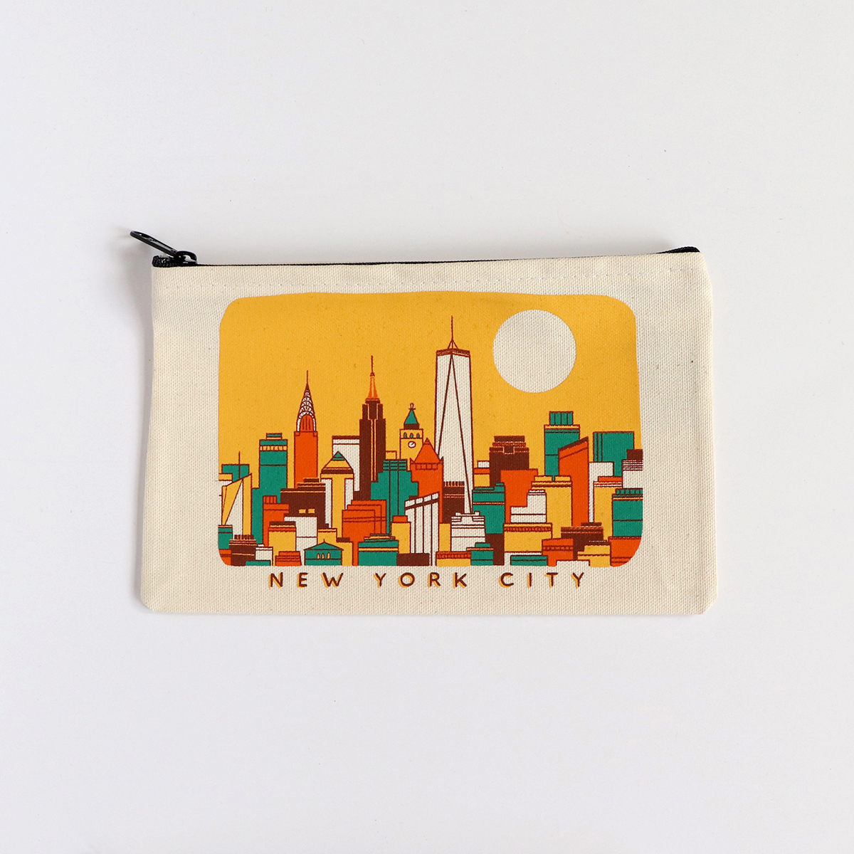 Yellow NYC Skyline