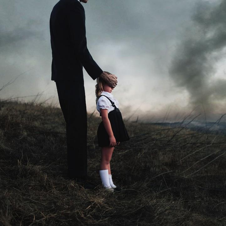 """""""A destructive force"""" by Alex Stoddard."""