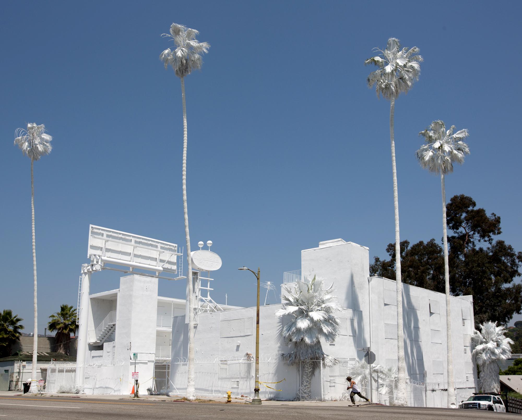LA - Projection by Vincent Lamouroux