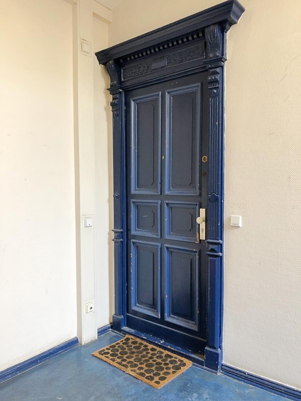 Outside Front Door