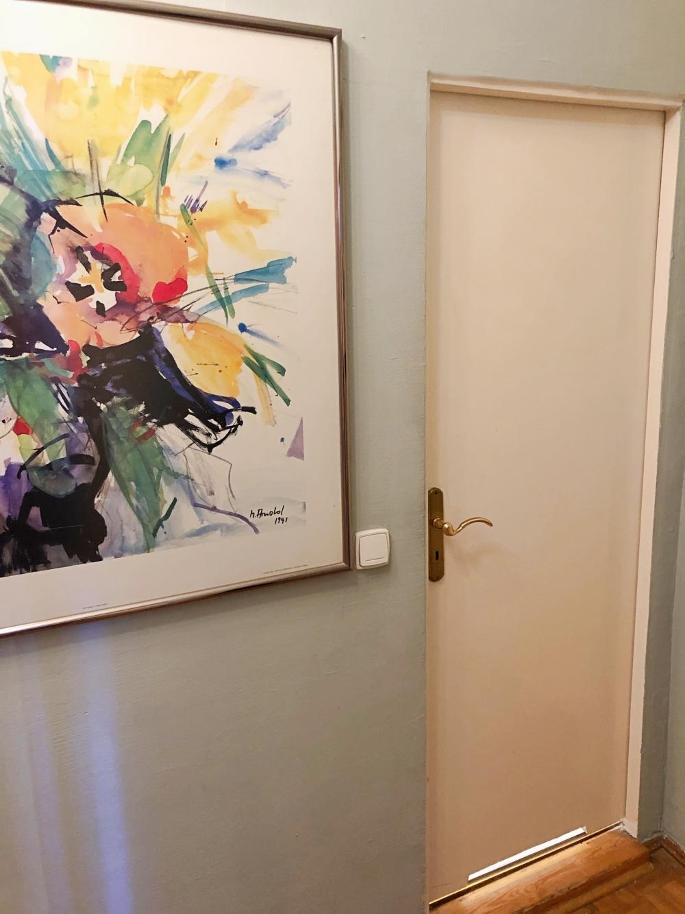 Washroom Door