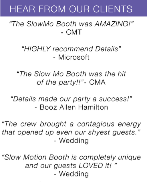 Slow Motion Booth