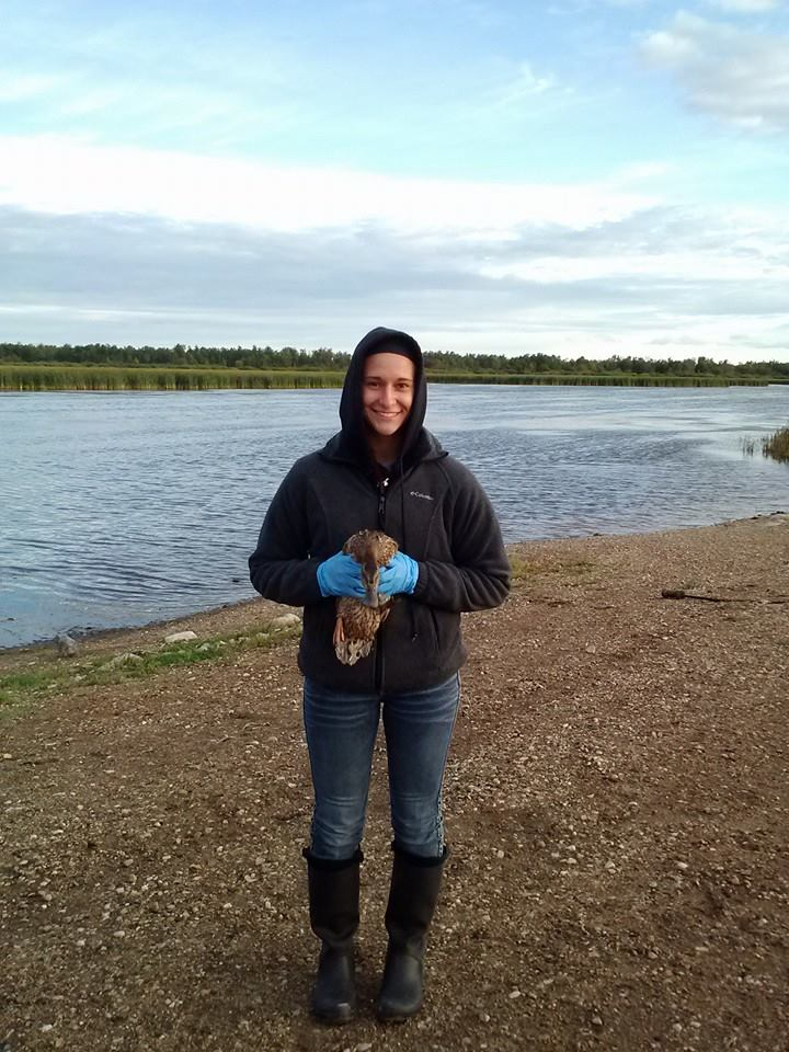 Angela LaCroix  is currently pursuing a degree in Fisheries and Wildlife Biology with a minor in American Sign Language and Deaf studies at the University of North Dakota.She loves to be outdoors! Hiking is one of her favorite things to do as well as traveling to places she's never been.