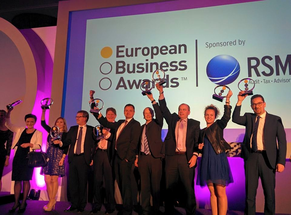 CELEBRATIONS IN LONDON EARLIER THIS YEAR WITH THE 2014/15 WINNERS!