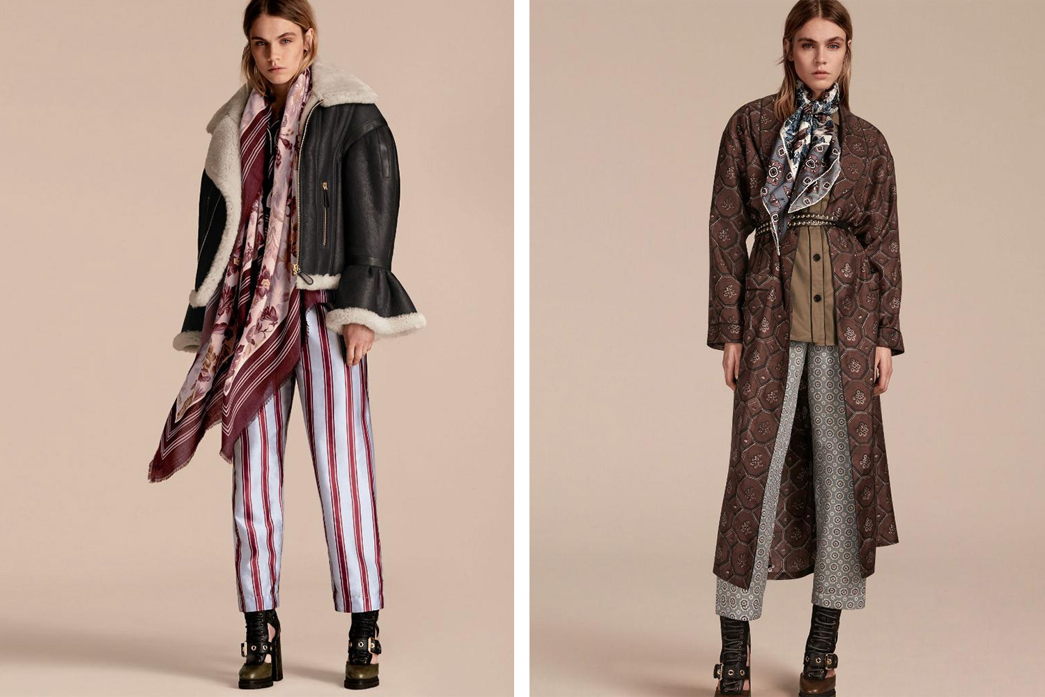 Styled by Pernilla for Burberry